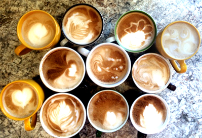 <p>Coffee Art</p>